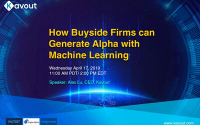 Webinar – Generating Alpha Using AI for Buyside Firms